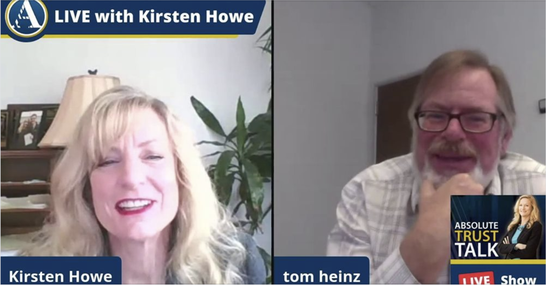 EBI's Executive Director Tom Heinz in Absolute Trust Talk's Podcast with Kristen Howe